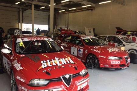 3 ex works Alfa Romeo race cars - NJS